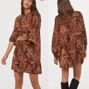 Richard Allen x H&M Paisley Boho Dress